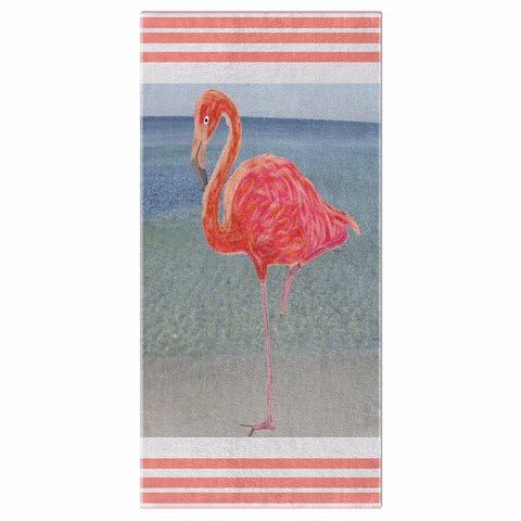 Flamingo Summer Collection Beach Towel