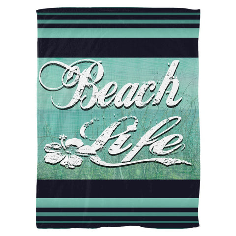 Beach Life Fleece Blanket