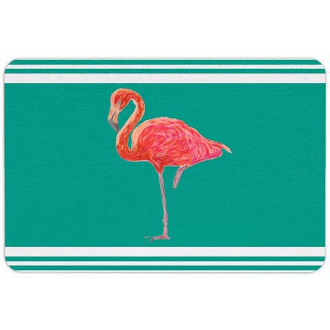 Flamingo Coastal Collection Door Mat