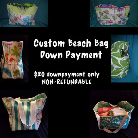Beach Bag Down Payment