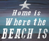 Home is Where The Beach Is-Choose you Style and Size