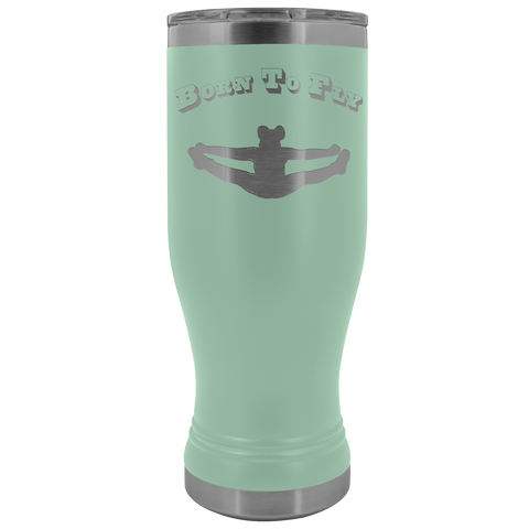Born to Fly Cheer Boho 20 Oz Tumbler