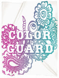 Color Guard Doodle Minky Blanket