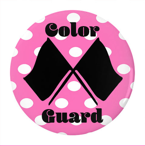 Color Guard- Pin/Buttons in Various Sizes