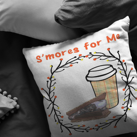 S'mores for Me- Throw Pillows