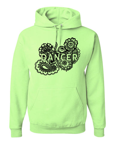 Dancer Doodle Jerzees Youth Hoodie