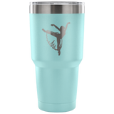 Ballet-Style 5-Etched Tumbler -30 ounces- Choose From a Variety of 7 Colors