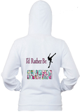 I would Rather Be Figure Skating Hoodie
