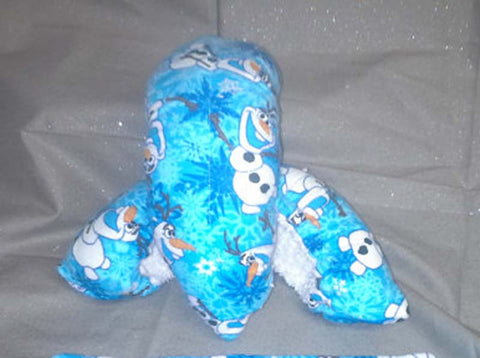 Figure/Ice Skating Soakers and Towel -Disney's Frozen Olaf  with Terry Cloth Inside