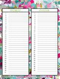 Perpetual Calendar set Instant Download- Printable PDF