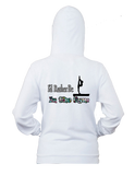 I'd Rather Be at the Gym -Women's Zip Up  Hoodie