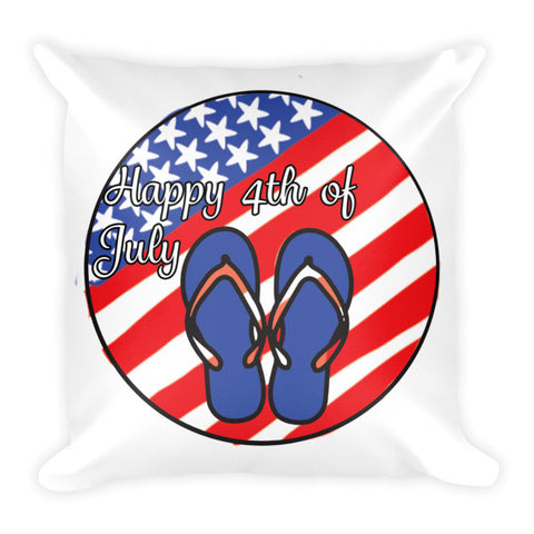 Patriotic  4th of July  Pillow