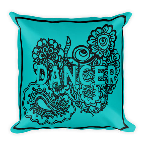 Dancer Zen Tangle  Pillow