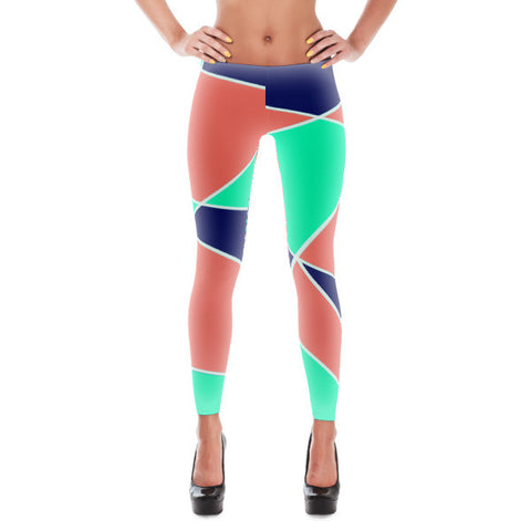 Abstract All Over Women's Leggings