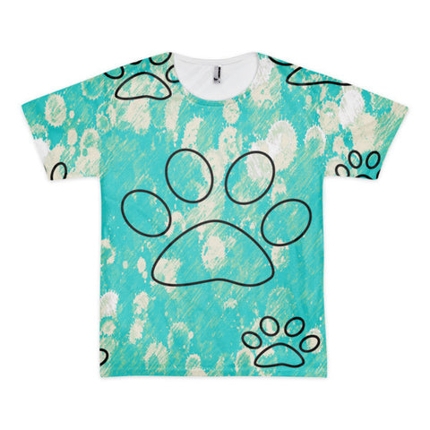 Cat Paws Short Sleeve Adult T-shirt (unisex)