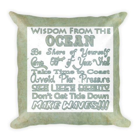 Wisdom From the Ocean Pillow