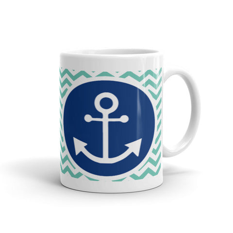Anchors Away Coffee Mugs