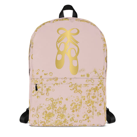 Ballet Shoes Dance Backpack- Great for Dance Teams/Troops