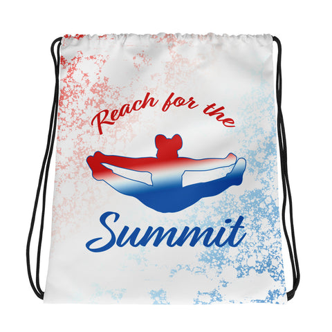 Cheer- Reach for the Summit Cinch Sak- Great for Teams
