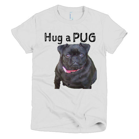 Hug a Pug Short Sleeve Women's T-shirt