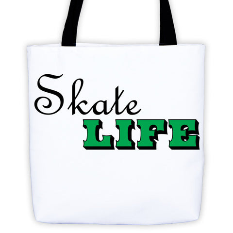 Figure Skater-Tote Bag with Skate Life Logo