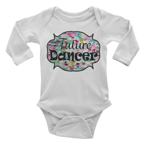 Future Dancer -Infant long sleeve one-piece