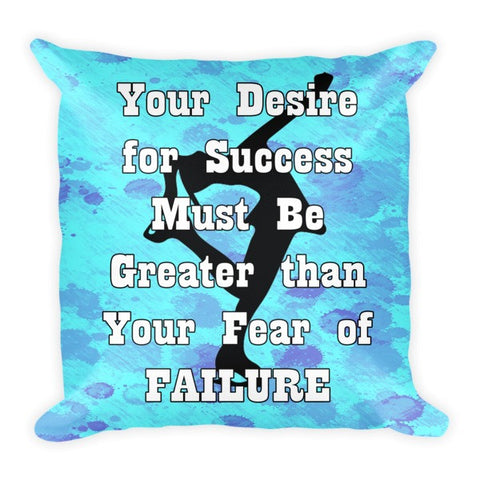 Fear of Failure-Figure Skating Pillow