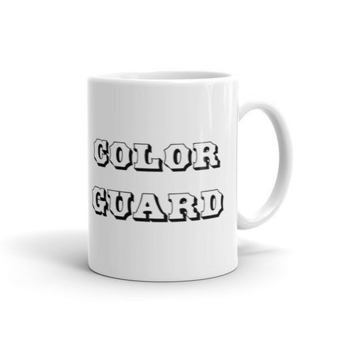 Let Your Colors Fly-Color Guard Coffee Mug