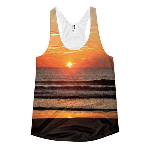 Beach Sunrise All-Over Women's Sublimation T-shirt