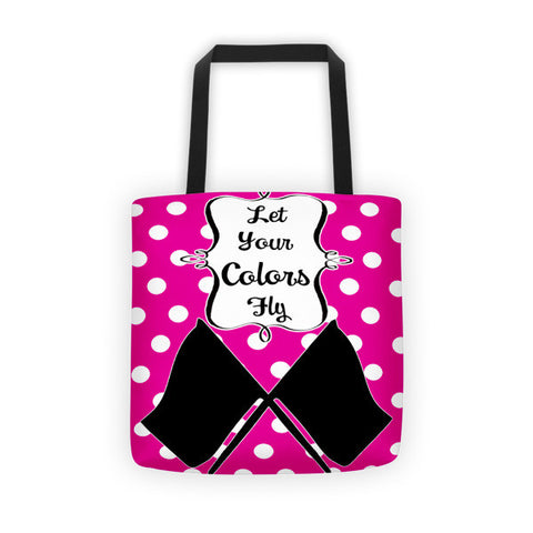 Let your Colors Fly-Tote bag