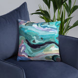 Abstract Playground  Design by Hxlxynxchxle- Double Sided Throw Pillow