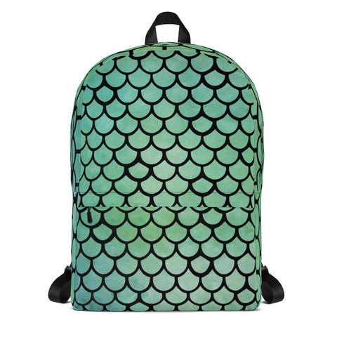 Mermaid Scales All Over Backpack Design