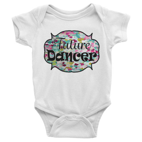 Future Dancer-Infant short sleeve one-piece