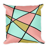 Abstract Color Guard Pillow