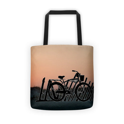 Beach Cruiser Tote bag