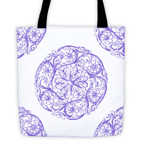 Ornamental Design Tote bag
