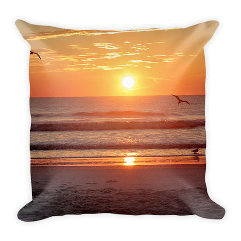 Sunrise on the Water-Pillow