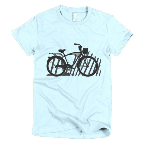 Beach Cruiser Short Sleeve Women's T-shirt