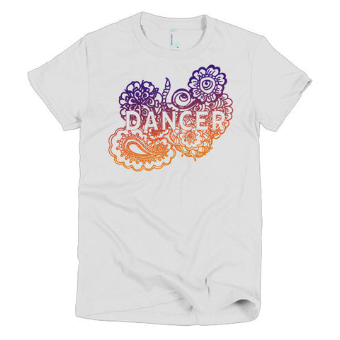 Dancer Zen Tangle Short Sleeve Women's T-shirt