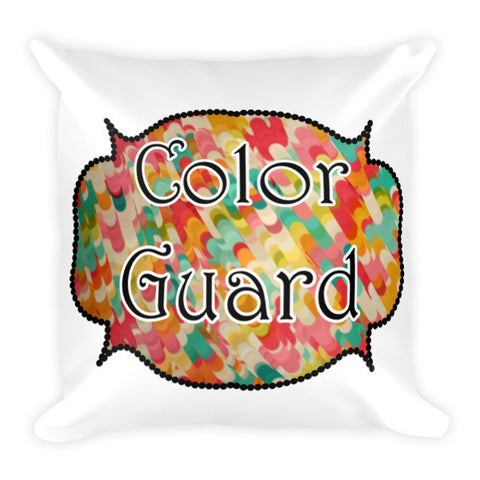 Color Guard Pillow