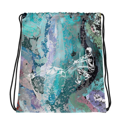 Figure Skating Pairs/Ice Dancing Drawstring Bag/ Cinch Sak