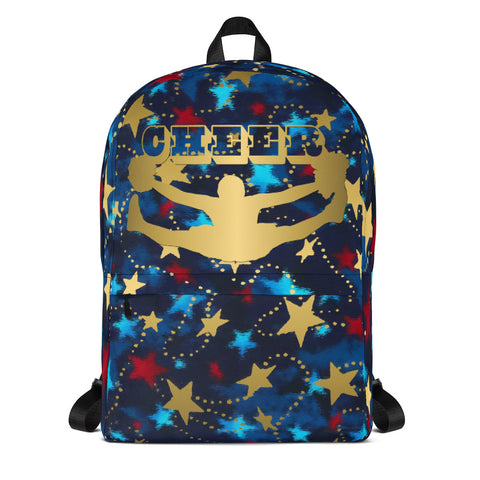 Patriotic Cheer Backpack- Perfect for Teams, Can be Personalized