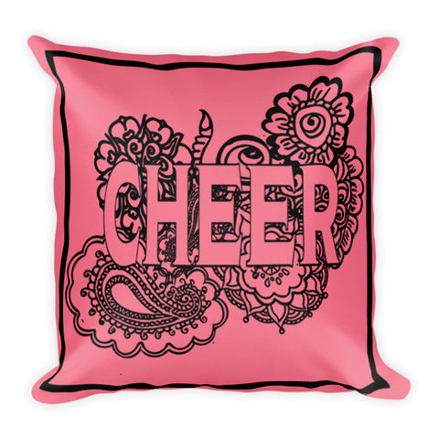 Cheer Zen Tangle Pillow