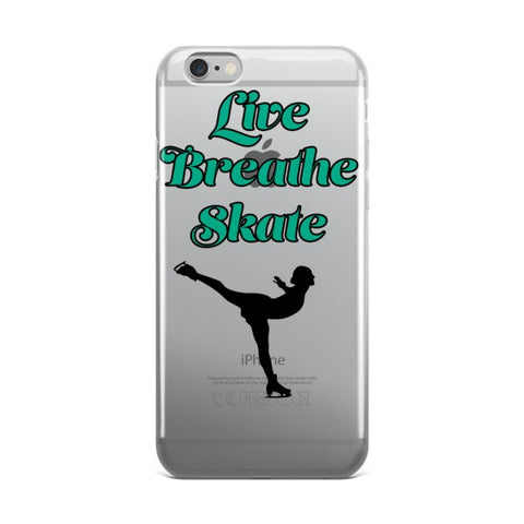 Live.Breath.Skate Phone Case -Price includes Shipping