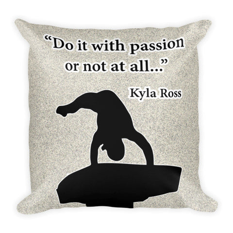 Do it With Passion-Gymnastics Pillow