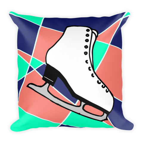 Abstract Skate Pillow