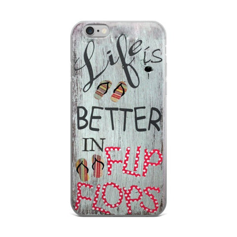 Life is Better in Flip Flops Phone Case-Price includes Shipping