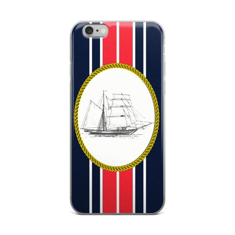 Sailboat N' Stripes Phone Cases -Phone Case Price Includes Shipping