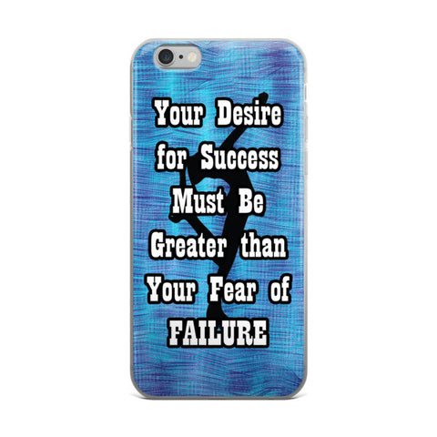 Fear of Failure-Figure Skating Phone Case