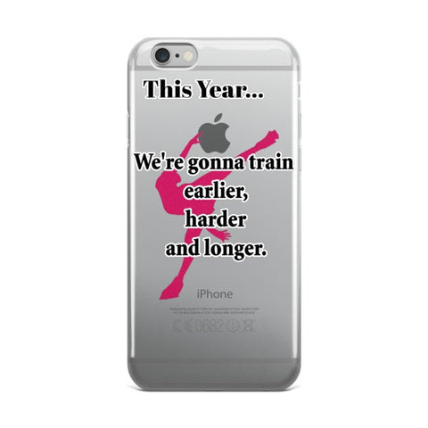 Figure Skating -This Year Quote- Phone Case